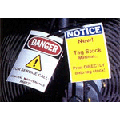 Synthetic Paper for Waterproof Clean Room Danger Signs