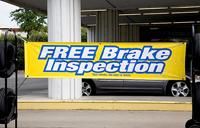 Free Brake Inspection Banner