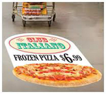 Wide Format Inkjet Floor Graphic