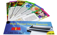 Contact us to request your FREE Wide format inkjet swatchbook!