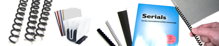 Film and Paper Binding Supplies from MtM