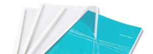 Clear Binding Covers from MtM