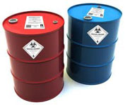 Commercial Oil Drum Labels