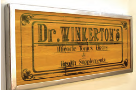 Printable Wood Veneer Door Plaques